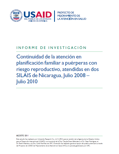 NICARAGUA CONTINUIDAD