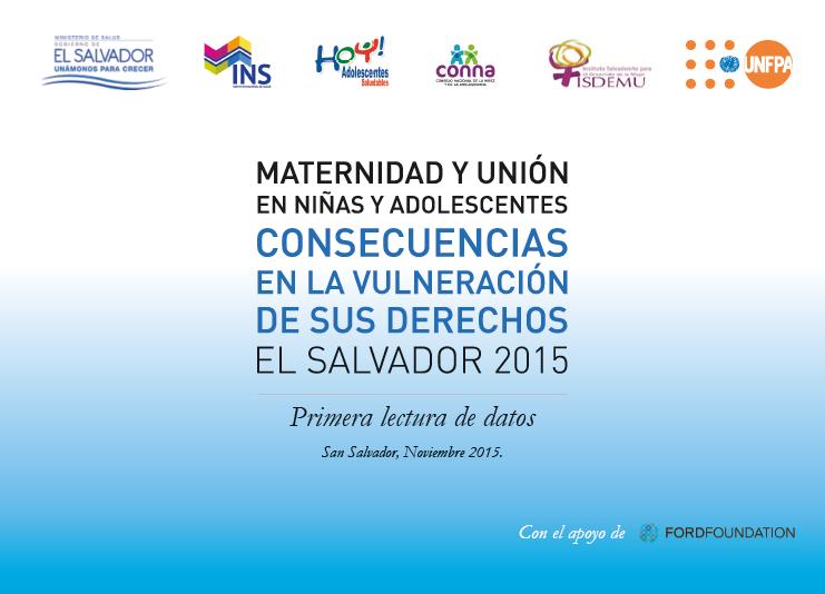 MATERNIDAD Y UNION EN NIÑAS Y ADOLESCENTES (PORTADA)