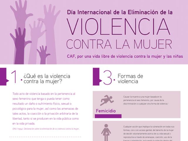 INFOGRAFIA VIOLENCIA CONTRA LA MUJER