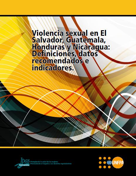 Portada estudio violencia sexual en El Salvador, Guatemala, Honduras y Nicaragua 2012