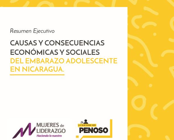 CAUSAS Y CONSECUENCIAS ECONÓMICAS Y SOCIALES DEL EMBARAZO EN ADOLESCENTES (PORTADA)