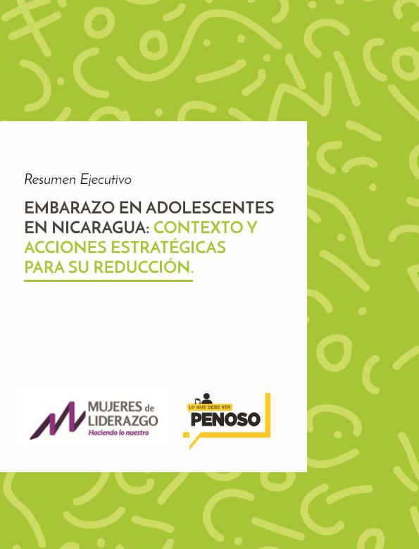 EMBARAZO EN ADOLESCENTES, CONTEXTO Y ACCIONES ESTRATEGICAS (PORTADA)